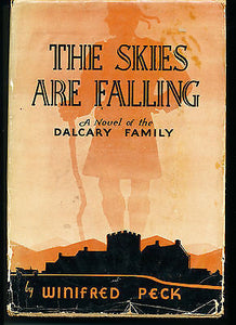 The Skies are Falling Rare 1936 First Edition in Dust Jacket