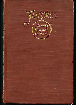 Jurgen A Comedy of Justice by James B Cabell 1919 First Edition