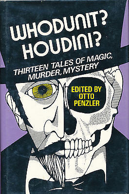 Whodunit? Houdini? by Otto Penzler 1976 First Edition