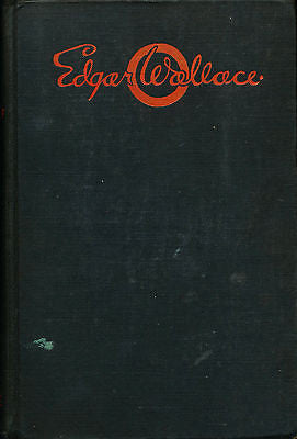 White Face by Edgar Wallace 1931 First Edition