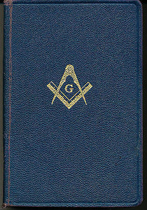 The Holy Bible The Great Light in Masonry 1924 Masonic Bible
