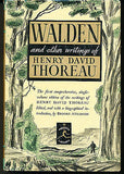 Walden by Henry David Thoreau Modern Library edition in Dust jacket