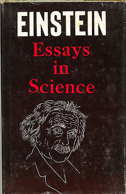 Essays in Science by Albert Einstein 1934 The Wisdom Library Edition