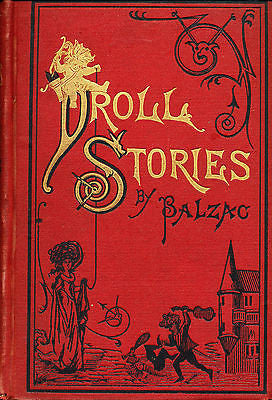 Droll Stories Collected From the Abbeys of Touraine by Balzac Illustrated