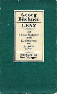 Lenz by Georg Buchner 1983 Illustrated Edition