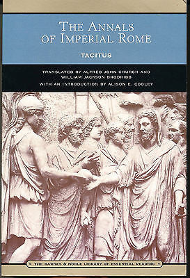 The Annals of Imperial Rome by Tacitus Barnes
