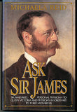 Ask Sir James by Michaela Reid 1989 Illustrated First Edition