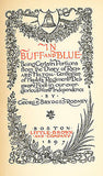 In Buff and Blue by George B Rodney 1897 First Edition