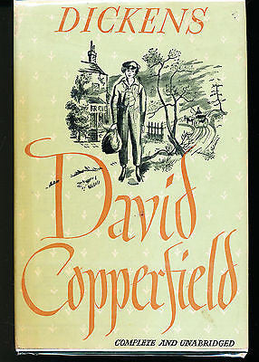 David Copperfield by Charles Dickens The Modern Library in Dust jacket
