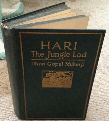 Hari The Jungle Lad by Dhan Gopal Murkerji Illustrated Edition