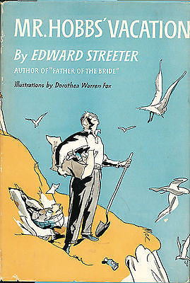Mr. Hobbs' Vacation by Edward Streeter 1954 Harper