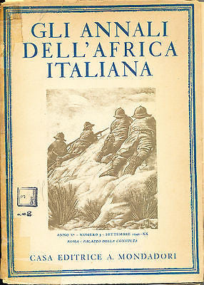Gli Annali Dell Africa Italiana Vol III The Ministry of A.I. 1942