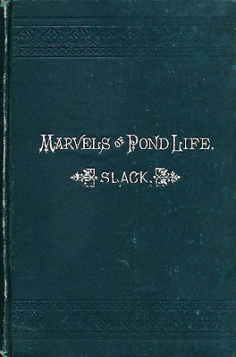 Marvels of Pond Life by Henry Slack Illustrated 1897 Edition
