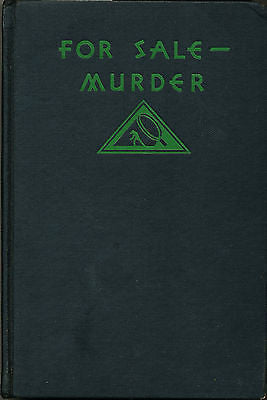 For Sale - Murder by Will Levinrew  1932 First Edition