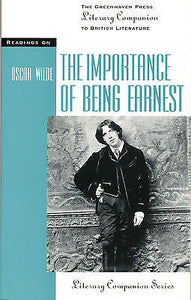 Readings on the Importance of Being Earnest by Thomas Siebold 2001 Edition