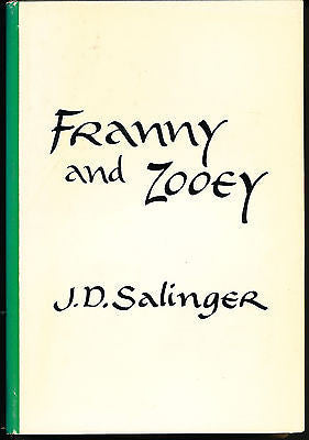 Franny and Zooey by J D Salinger 1961 10th Printing