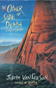 The Other Side of Death by Judith Van Gieson 1991 First Edition Review Copy