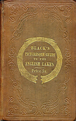 Black's Picturesque Guide to the English Lakes by John Phillips 1853 Illustrated