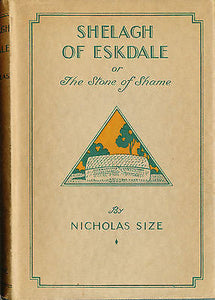 Shelagh of Eskdale by Nicholas Size 1932 Edition with Dust wrapper