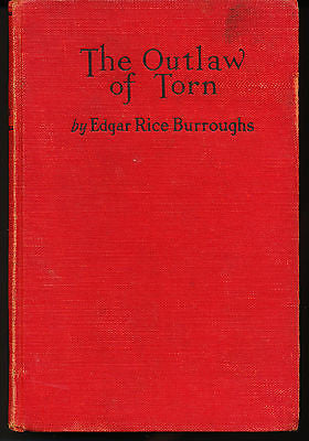The Outlaw of Torn by Edgar R Burroughs 1927 Edition