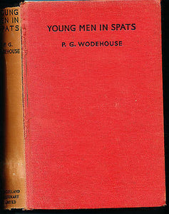 Young Men in Spats by P.G. Wodehouse 1936 First Edition