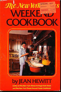 The New York Times Weekend Cookbook by Jean Hewitt (1975, Hardcover)