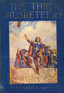 The Three Musketeers by Alexandre Dumas Illustrated 1928 Edition
