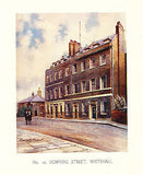 No. 10 Downing Street Whitehall 1908 Illustrated Edition