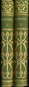 The Alhambra by Washington Irving 1891 Edition