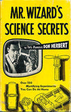 Mr. Wizard's Science Secrets Don Herbert 1953  Illustrated 2nd Printing