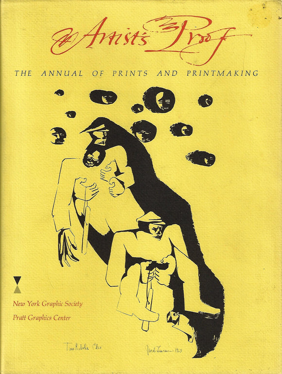 Artist's Proof The Annual of Prints and Printmaking by Eichenberg, Fritz