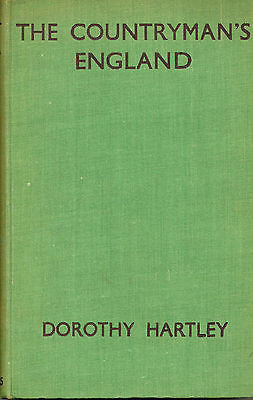 The Countryman's England by Dorothy Hartley  1935 Edition