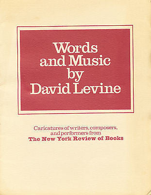 Words & Music by David Levine  12 Frameable Plates