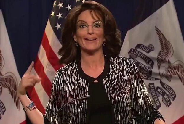 Watch Tina Fey Deliver Her Latest Sarah Palin Impersonation