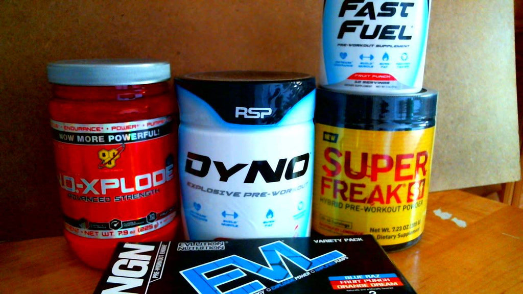 The Top 10 Bodybuilding pre workout supplements on ChosenMeds