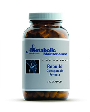 Metabolic Maintenance  Rebuild Osteoporosis Formula, 180 - ChosenMeds.com: Your premier online shop for the best health supplements and skin care products