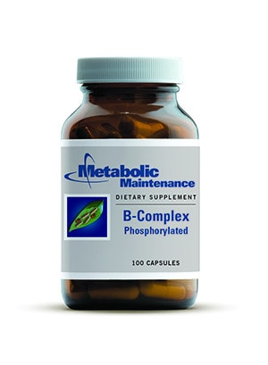 Metabolic Maintenance B-Complex Phosphorylated 100 Vcaps - ChosenMeds.com: Your premier online shop for the best health supplements and skin care products