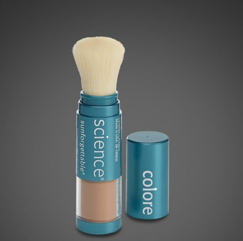 Colorescience Sunforgettable Mineral Sunscreen Brush - Tan - SPF 50 - ChosenMeds.com: Your premier online shop for the best health supplements and skin care products - 1