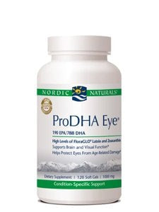 Nordic Naturals ProDHA Eye 120gels, 1000 mg - ChosenMeds.com: Your premier online shop for the best health supplements and skin care products