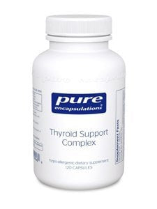 Pure Encapsulations Thyroid Support Complex 120s - ChosenMeds.com: Your premier online shop for the best health supplements and skin care products