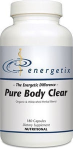 Energetix Pure Body Clear 180 capsules - ChosenMeds.com: Your premier online shop for the best health supplements and skin care products