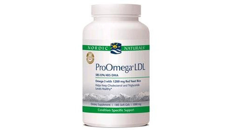 ProOmega LDL 1000mg 180 Softgels - ChosenMeds.com: Your premier online shop for the best health supplements and skin care products