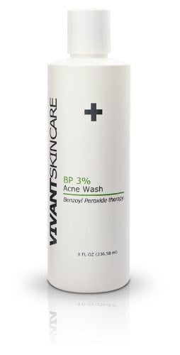 Vivant Skincare BP 3% Acne Wash - ChosenMeds.com: Your premier online shop for the best health supplements and skin care products