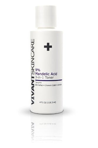 Vivant Skincare 9% Mandelic Acid 3-in-1 Toner - ChosenMeds.com: Your premier online shop for the best health supplements and skin care products