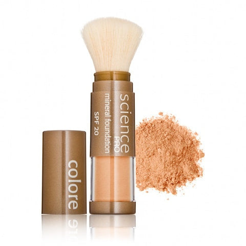Colorescience Pro Loose Mineral Foundation Sunscreen SPF 20 Powder Brush - California Girl - .21 oz - ChosenMeds.com