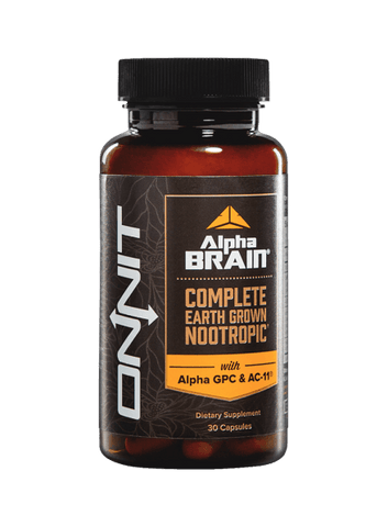Onnit Alpha BRAIN, 30 count - ChosenMeds.com: Your premier online shop for the best health supplements and skin care products