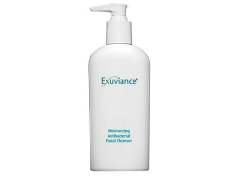Exuviance Moisturizing Antibacterial Facial Cleanser, 7.2 Fluid Ounce - ChosenMeds.com: Your premier online shop for the best health supplements and skin care products