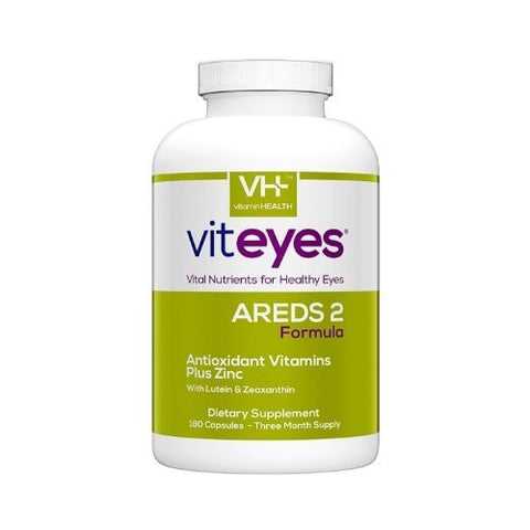 Viteyes Areds 2 Formula, 180 Count - ChosenMeds.com: Your premier online shop for the best health supplements and skin care products