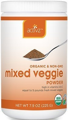 Activz Organic Powder Mixed Veggie 7.9 oz. - ChosenMeds.com