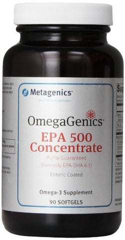Metagenics OmegaGenics EPA 500 Concentrate - ChosenMeds.com: Your premier online shop for the best health supplements and skin care products